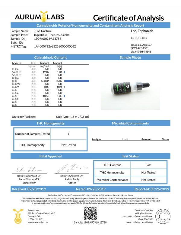 Lee Hemp Mint Cream Tincture - 500 mg