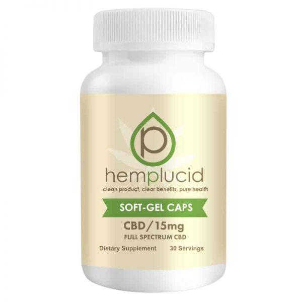 Hemplucid Soft-Gels 15mg 30 Count