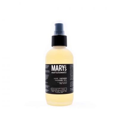 Mary's Nutritionals Hemp Massage Oil 50mg