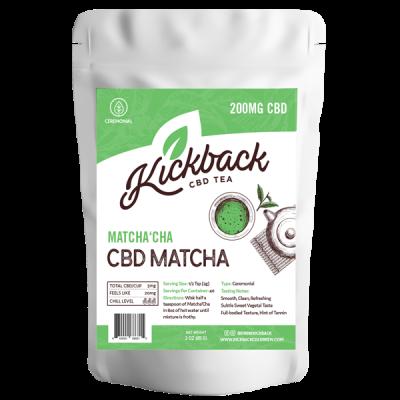 Kickback Coldbrew CBD Matcha Tea