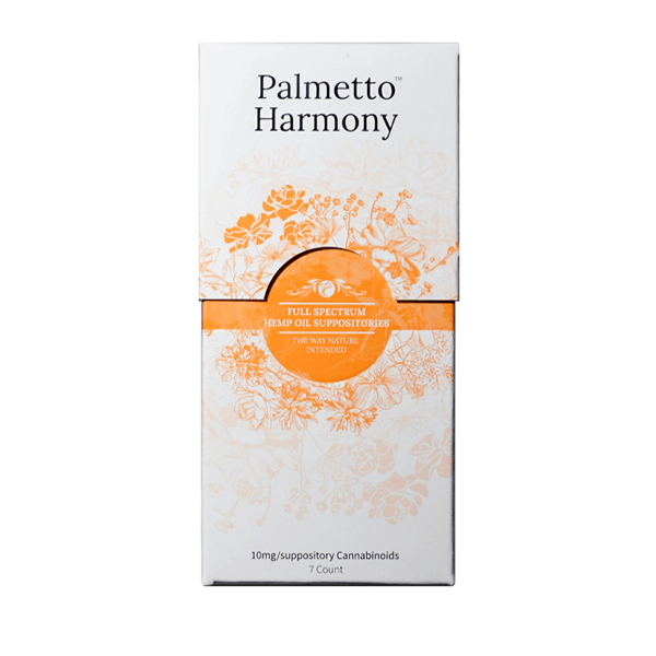 Palmetto Harmony Suppository 7 Count