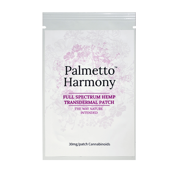 Palmetto Harmony Transdermal Patch 30mg