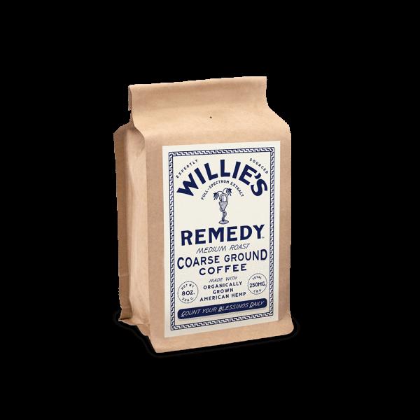 Willie's Remedy Medium Blend 8oz. Ground Coffee
