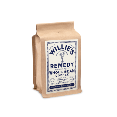 Willie's Remedy Medium Blend 8oz. Whole Bean Coffee (Copy)