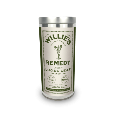 Willie's Remedy Green Tea 3 oz Tin