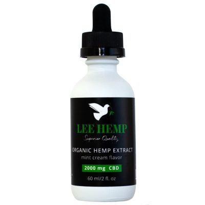 Lee Hemp Mint Cream Tincture - 2000 mg